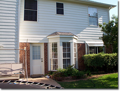 Exterior painting by Greg Forrest, Big Six Painting Contractor, Dallas Metroplex TX
